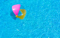 Summer Holiday Inflatable Ball In Swimming Pool Water Stock Photography - 96746602