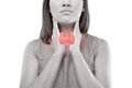 Women Thyroid Gland Control. Royalty Free Stock Images - 96797369