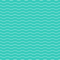 Wavy Seamless Striped Pattern. Simple Background. Stock Photography - 96811302