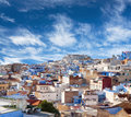 Panorama Of Chefchaouen Medina In Morocco, Africa Royalty Free Stock Photography - 96817477