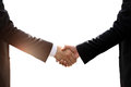 Business Hand Shake Isolated Stock Photography - 96823612