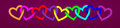 Love Valentine`s Banner With Garland Heart Background Valentine`s Day, February 14, Stock Photos - 96862603