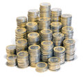 Lots Of Euro Coins Stock Image - 96878251