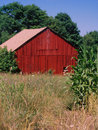 Red Barn Royalty Free Stock Photo - 9694115
