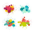 Paint Splat Vector Set Royalty Free Stock Images - 96940149
