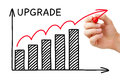 Upgrade Graph Concept Stock Images - 96966854