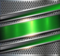 Background Metallic Silver Green Royalty Free Stock Images - 96972979