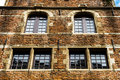 Old But Renovated Windows In Historical Part Of Bruxelles Royalty Free Stock Images - 96975059