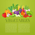 Vegetables Top View Frame. Farmers Market Menu Design. Organic Food Poster. Vintage Hand Drawn Sketch Vector Royalty Free Stock Photography - 96979727