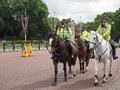 Police On Horseback In London Royalty Free Stock Photos - 96984308