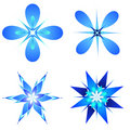 Snow Flakes Designs Stock Image - 973401