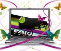Laptop Royalty Free Stock Images - 9703089