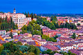 Verona Rooftops And Opera Don Calabria Evening View Stock Photo - 97052930