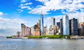 New York, USA. Lower Manhattan Skyline View With Urban Architect Royalty Free Stock Photos - 97060618