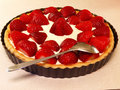 Strawberry Pie Stock Image - 9711051