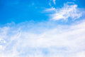 Blue Sky With Fluffy Clouds Stock Images - 97106294
