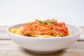 Spaghetti Bolognese Royalty Free Stock Photos - 97192528