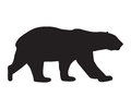 Bear Icon Black Silhouette Royalty Free Stock Photography - 97219557