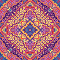 Vector Paisley India Pattern, Decorative Ornament For Textile, Wrapping Or Bandana Decor. Bohemian Style Kerchief Design Stock Image - 97227411