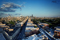 Chicago Aerial Skyline From The Northwest Side With Dramatic Sky Royalty Free Stock Images - 97258589