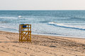 Lifeguard Tower On Beach At The Virginia Beach Oceanfront Stock Images - 97264504