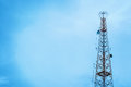 Telecommunication Tower Royalty Free Stock Images - 97266959