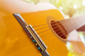 Close Up Of Classic Guitar Stock Photography - 97289042