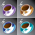 Coffee Cups Royalty Free Stock Image - 9731636