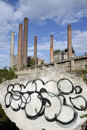 Cement Plant Royalty Free Stock Image - 9734086