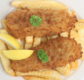 Fish And Chips Stock Image - 9734141