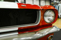 Front View Of Classic Retro Ford Mustang GT.Car Exterior Details. Headlight Of A Retro Car Stock Photos - 97303793