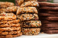 Peanut Brittle And Cookies Stock Image - 97375631
