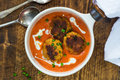 Thai Crab Cakes And Bisque Royalty Free Stock Images - 97391349