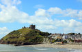 Criccieth Castle, North Wales. Royalty Free Stock Photo - 97395705