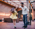 Dad With Daughter Royalty Free Stock Images - 97405789