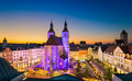 Christmas Market In Regensburg, Germany Royalty Free Stock Photos - 97418018