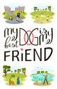 Dog Is My Best Friend Royalty Free Stock Image - 97422186