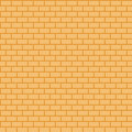 Brick Wall. Simple Background. Vector Seamless Pattern Stock Images - 97438684