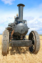 Steam Traction Engine Stock Image - 97445951