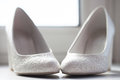 Shoes Of The Bride Stock Images - 97453384