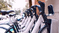 Bicycles Sharing And Rental System, Canada Royalty Free Stock Image - 97473196