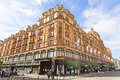 Harrods , Luxury Department Store On Brompton Road, London United Kingdom Royalty Free Stock Photography - 97498267