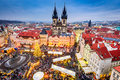 Prague, Czech Republic - Christmas Market Stock Photography - 97510462