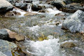 A Stream In A Mountain Stock Image - 97536531