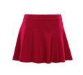 Red Color Skirt Isolated On White Background Stock Photography - 97571782