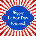 Happy Labor Day Weekend Stock Photo - 97595170