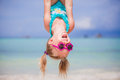 Happy Little Girl Outdoors During Summer Vacation Have Fun With Father Stock Image - 97641301