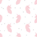 Unicorns In Patchwork Style Seamless Vector Pattern Stock Image - 97667981