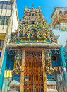 The Old Hindu Temple In Pettah Of Colombo Royalty Free Stock Photography - 97670387