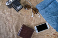 Accessories For Travel,wallet,photo Camera, Smart Phone,sunglass Stock Photos - 97733353